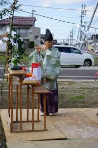 木村様地鎮祭